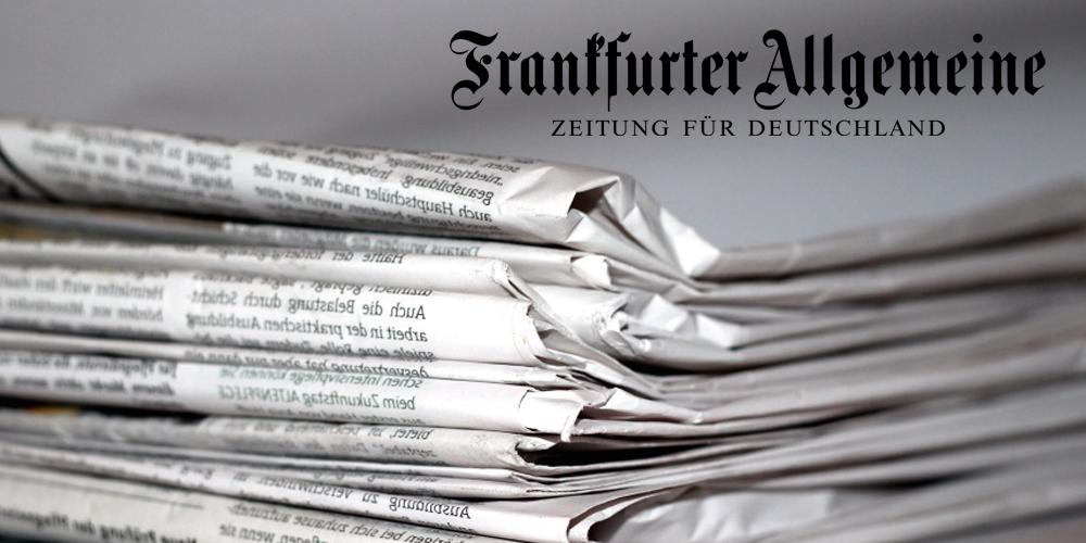 Kanzlei Lodigkeit für IT Recht - Interview mit der Frankfurter Allgemeinen