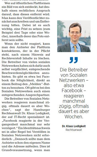 Klaus Lodigkeit Interview zu Datenschutz